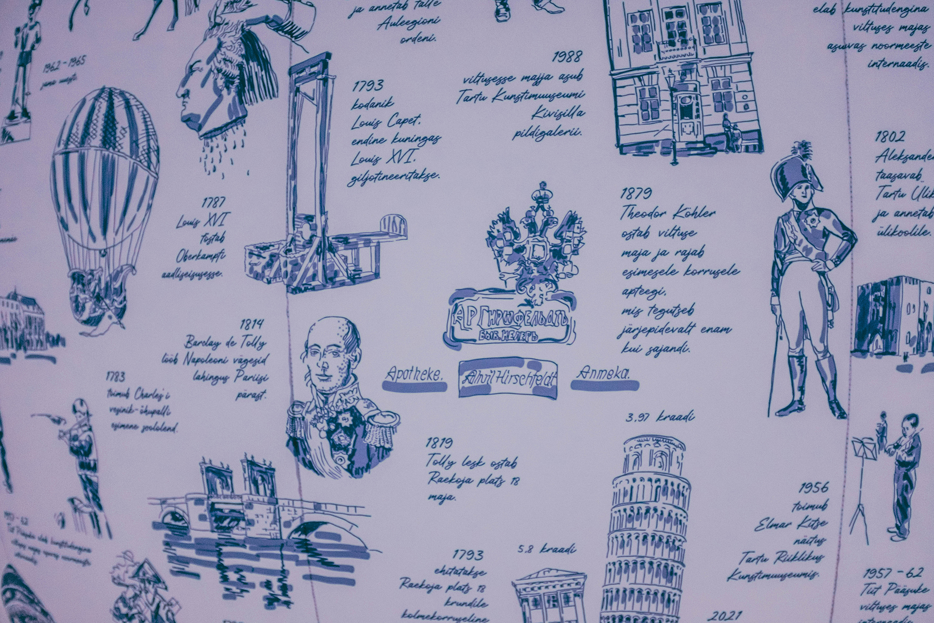 """""""Toile, Tartu and house of Tolly"""" / """"Туаль. Тарту и Дом де Толли"""""""